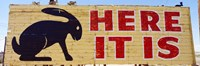 "Jack Rabbit Trading Post Sign Joseph City AZ by Panoramic Images - 27"" x 9"", FulcrumGallery.com brand"