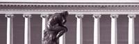 "Rodin Sculpture, San Francisco, California, USA by Panoramic Images - 27"" x 9"""