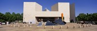"Facade of a building, National Gallery of Art, Washington DC, USA by Panoramic Images - 27"" x 9"""