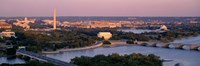 """Aerial, Washington DC, District Of Columbia, USA by Panoramic Images - 27"""" x 9"""" - $28.99"""
