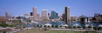 Inner Harbor Skyline Baltimore MD USA