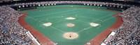"Phillies vs Mets baseball game, Veterans Stadium, Philadelphia, Pennsylvania, USA by Panoramic Images - 27"" x 9"""
