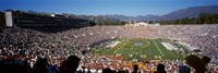 """Spectators watching a football match, Rose Bowl Stadium, Pasadena, City of Los Angeles, Los Angeles County, California, USA by Panoramic Images - 27"""" x 9"""""""
