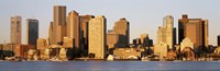Sunrise Skyline Boston Massachusetts USA