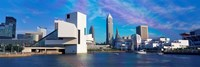 Cleveland, Ohio Skyline from the Waterfront Fine Art Print