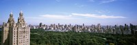 """Cityscape Of New York, NYC by Panoramic Images - 27"""" x 9"""""""