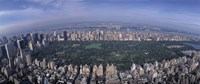 """Aerial Central Park New York NY USA by Panoramic Images - 27"""" x 11"""""""