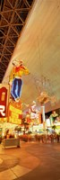 """Fremont Street Downtown Las Vegas by Panoramic Images - 9"""" x 27"""""""