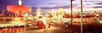 "Ferris wheel in an amusement park, Arizona State Fair, Phoenix, Arizona, USA by Panoramic Images - 27"" x 9"""
