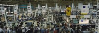 """Trade show in a hall, McCormick Place, Chicago, Cook County, Illinois, USA by Panoramic Images - 27"""" x 9"""""""