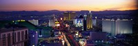 "The Strip, Las Vegas, Nevada, USA by Panoramic Images - 27"" x 9"", FulcrumGallery.com brand"