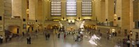 Group of people in a subway station, Grand Central Station, Manhattan, New York City, New York State, USA Fine Art Print