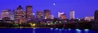 Dusk Charles River Boston MA USA