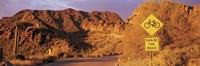 "Gates Pass Road Tucson Mountain Park Arizona USA by Panoramic Images - 27"" x 9"" - $28.99"