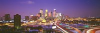 "Twilight, Minneapolis, MN, USA by Panoramic Images - 27"" x 9"" - $28.99"