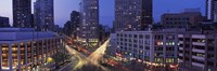 """Upper West Side, NYC, New York City, New York State, USA by Panoramic Images - 27"""" x 9"""""""