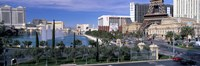 "Sunny Day on the Strip in Las Vegas by Panoramic Images - 27"" x 9"" - $28.99"