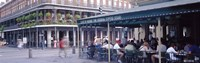 """Cafe du Monde French Quarter New Orleans LA by Panoramic Images - 27"""" x 9"""""""