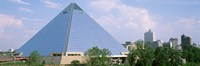 USA, Tennessee, Memphis, The Pyramid Fine Art Print