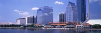 Skyline Jacksonville FL USA Fine Art Print