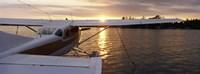 "Sea plane, Lake Spenard, Anchorage, Alaska by Panoramic Images - 27"" x 9"" - $28.99"