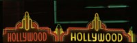 Hollywood Neon Sign Los Angeles CA Fine Art Print