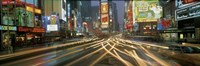 """Times Square New York NY by Panoramic Images - 27"""" x 9"""""""
