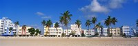 """Miami Beach FL by Panoramic Images - 27"""" x 9"""""""