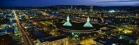 """Portland OR by Panoramic Images - 27"""" x 9"""""""