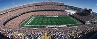 Sold Out Crowd at Mile High Stadium Fine Art Print