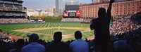 Baseball Game Baltimore Maryland Fine Art Print