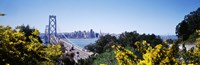 "Bay Bridge In San Francisco, San Francisco, California, USA by Panoramic Images - 27"" x 9"""