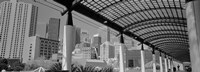 """San Francisco, California (black and white) by Panoramic Images - 27"""" x 9"""""""