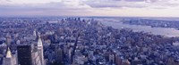 "Aerial View From Top Of Empire State Building, Manhattan, NYC, New York City, New York State, USA by Panoramic Images - 27"" x 9"""