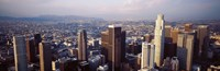 """Los Angeles, California, USA by Panoramic Images - 27"""" x 9"""" - $28.99"""