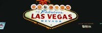 "Las Vegas neon sign, Nevada by Panoramic Images - 27"" x 9"" - $28.99"