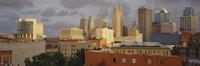 """Kansas City, Missouri Skyline by Panoramic Images - 27"""" x 9"""""""