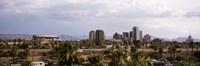 USA, Arizona, Phoenix, High angle view of the city Framed Print