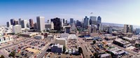 """USA, California, San Diego, Downtown District by Panoramic Images - 27"""" x 9"""""""