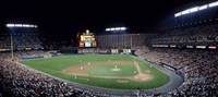 """Baseball Game Camden Yards Baltimore MD by Panoramic Images - 27"""" x 12"""", FulcrumGallery.com brand"""