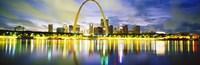 Evening, St Louis, Missouri, USA Fine Art Print