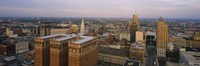"""High Angle View Of Buildings In A City, Buffalo, New York State, USA by Panoramic Images - 27"""" x 9"""""""