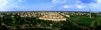 "Aerial View Of The City, Washington DC, District Of Columbia, USA by Panoramic Images - 27"" x 9"""