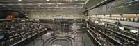 "Empty mercantile exchange, Chicago Mercantile Exchange, Chicago, Illinois, USA by Panoramic Images - 27"" x 9"""