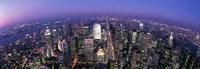 "Midtown Manhattan, New York, NYC, New York City, New York State, USA by Panoramic Images - 27"" x 9"""