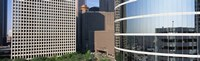 """Skyscraper windows in Houston, TX by Panoramic Images - 27"""" x 9"""""""