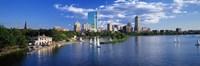 "Boston, Massachusetts, USA by Panoramic Images - 27"" x 9"""
