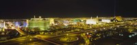 Night view of Las Vegas, Nevada Fine Art Print