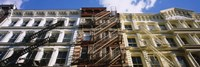 """Low Angle View Of A Building, Soho, Manhattan, NYC, New York City, New York State, USA by Panoramic Images - 27"""" x 9"""""""