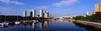 "Tampa FL by Panoramic Images - 27"" x 9"""